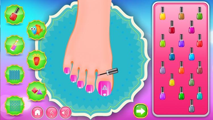 Beauty Toe Nail Salon Makeover screenshot-3