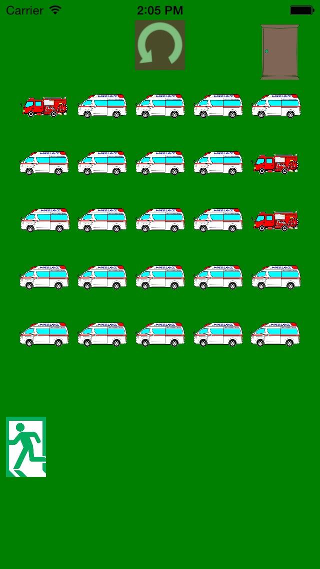 ひらめき!救急車(きゅうきゅうしゃ)脱出ゲーム!紹介画像2