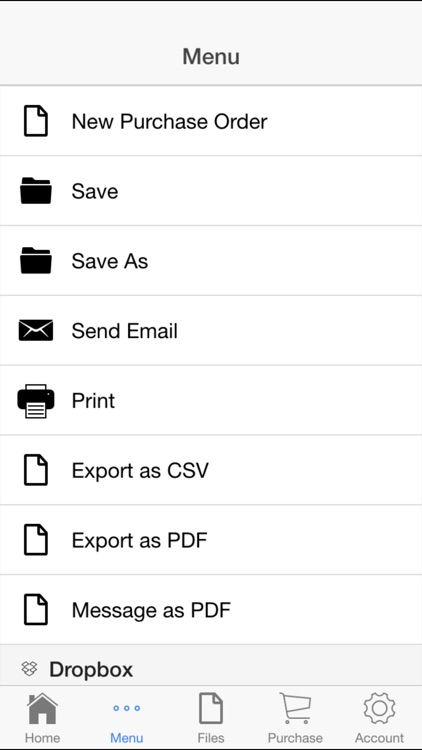 Purchase Order screenshot-3