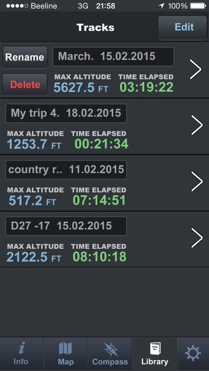 Altimeter Pro A.C.T screenshot-4