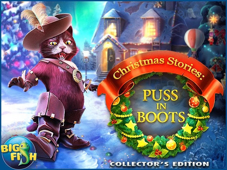 Christmas Stories: Puss in Boots HD - A Magical Hidden Object Game screenshot-4