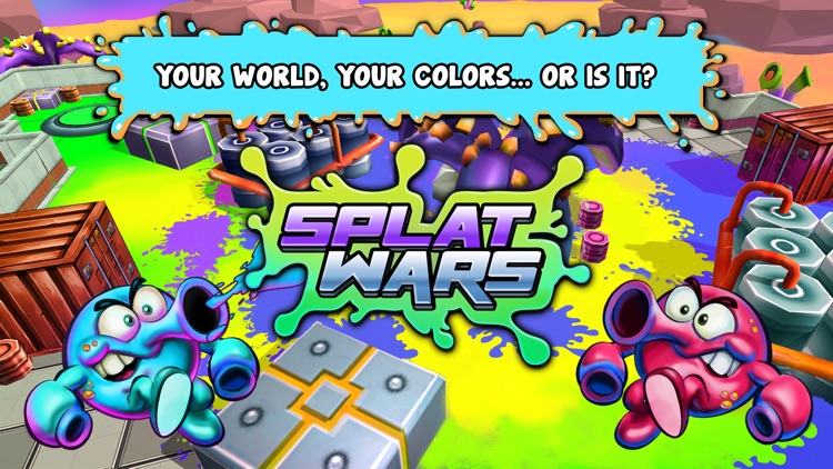 Splat Wars screenshot-4