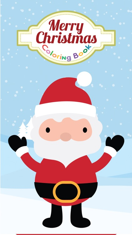 Christmas coloring and alphabet numbers games for kids
