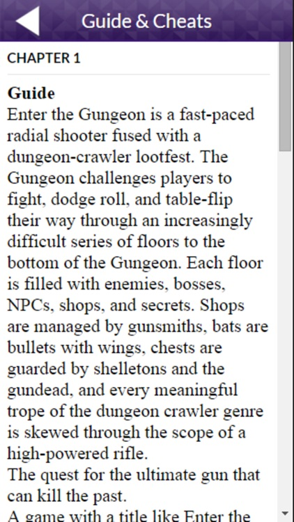 PRO - Enter the Gungeon Game Version Guide