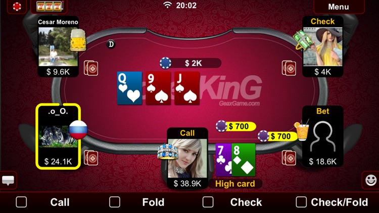 Live Holdem Poker screenshot-1