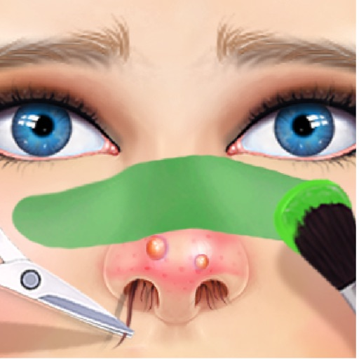Beauty Doctor Salon™ Nose Care Makeover Game