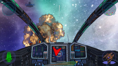 Space Wars 3D Star Combat Simulatorのおすすめ画像1