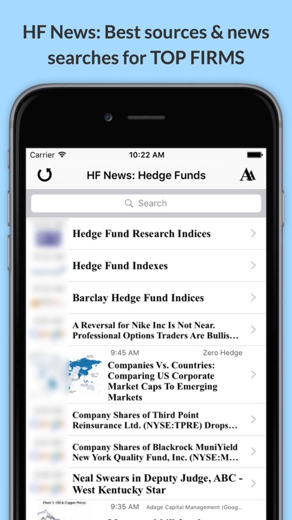 HF News: Latest Hedge Fund & Alternative Investment News screenshot-0