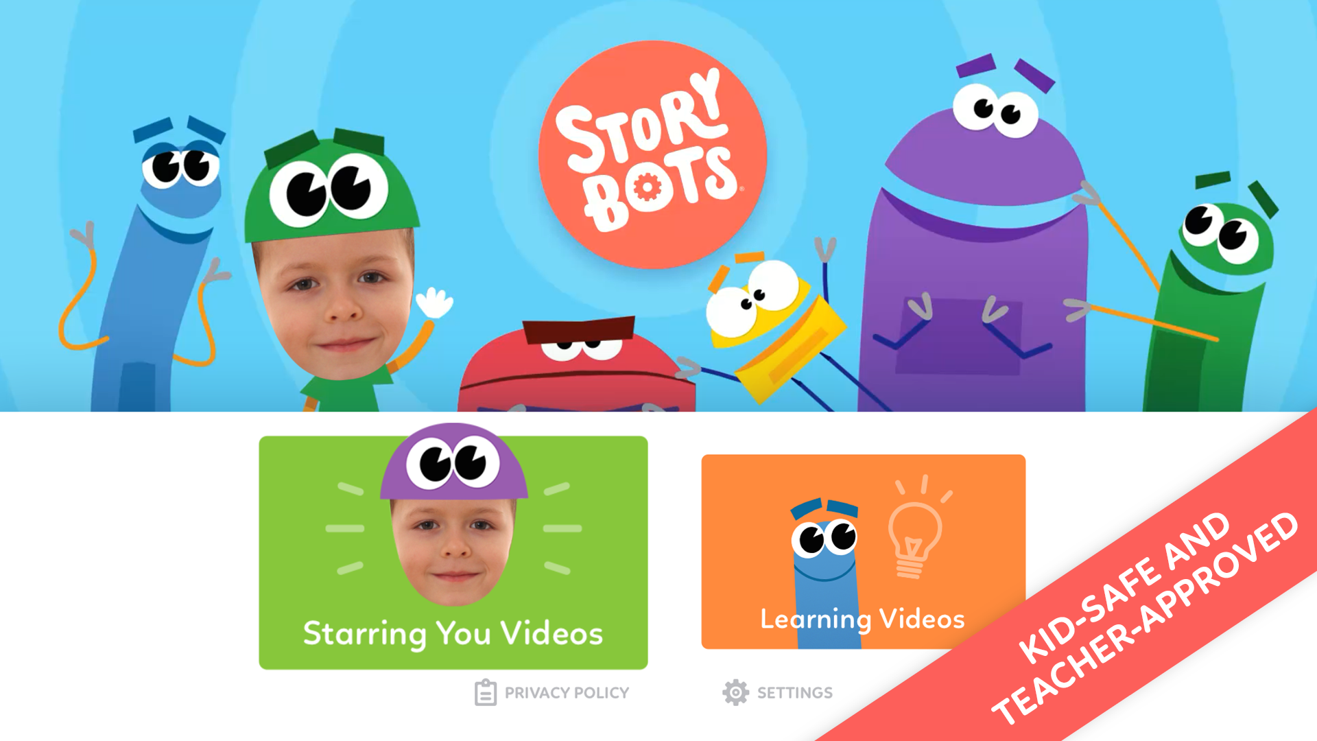 StoryBots – Learning Books, Videos and Games Starring Your Child! screenshot 9