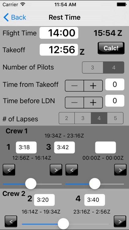 Flight-Time Pro screenshot-4