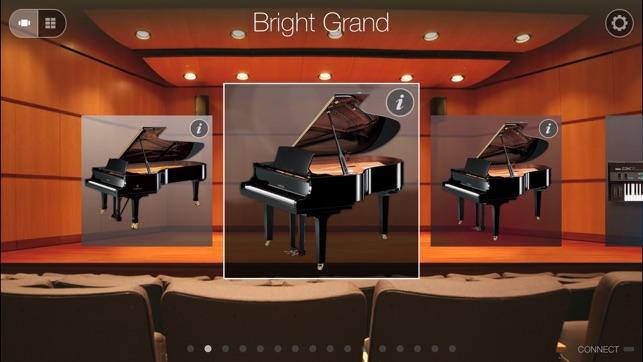 App store digital piano controller for Yamaha digital piano controller