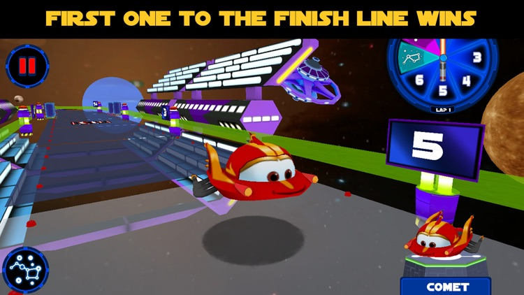 Planet Racers: Family Board Game screenshot-0