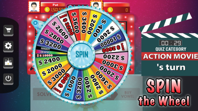 Amazing Wheel™ : Hollywood Quiz of Words and Phrases Fortune screenshot two