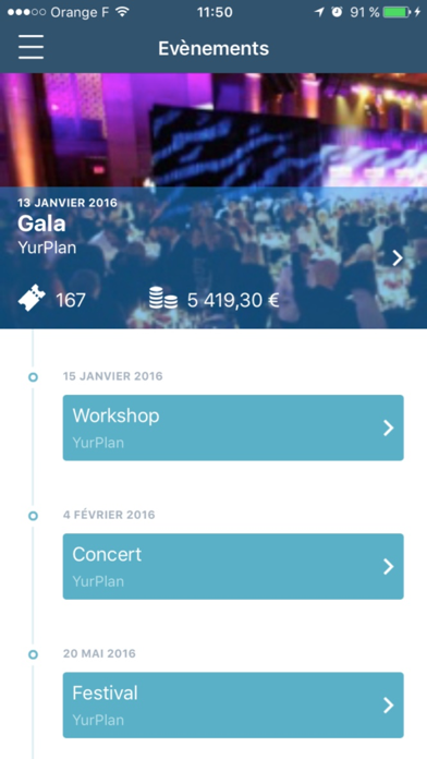YurPlan Pro - Entry screenshot one