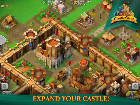 Age of Empires: Castle Siege для iPad