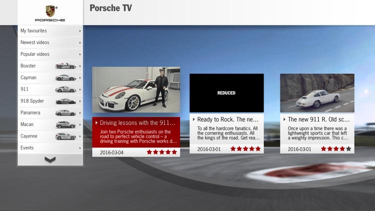 Porsche TV
