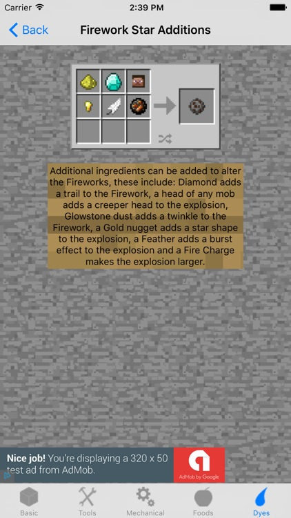 Crafting Recipes. screenshot-4