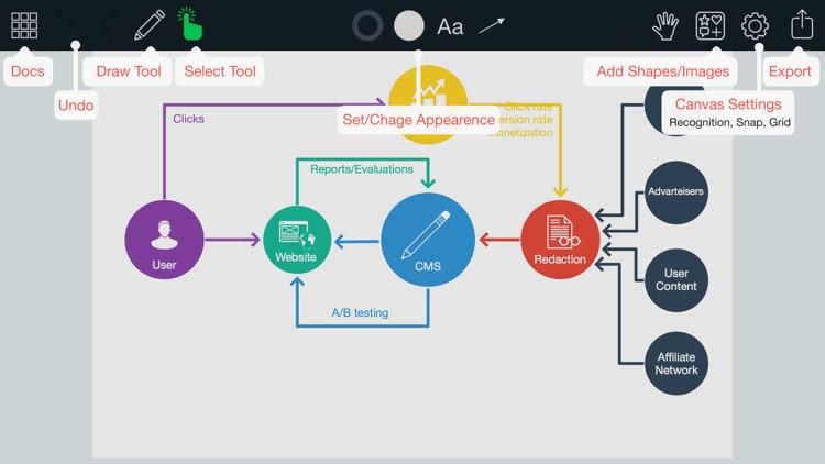 Grafio 3 - Diagrams & ideas screenshot-4