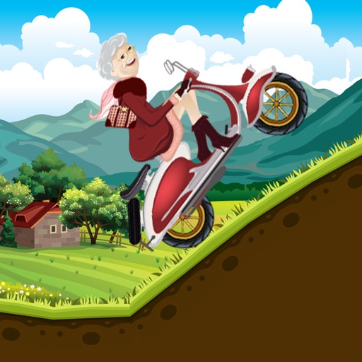 Fun With Crazy Granny In Hilly Climb Race (Pro)
