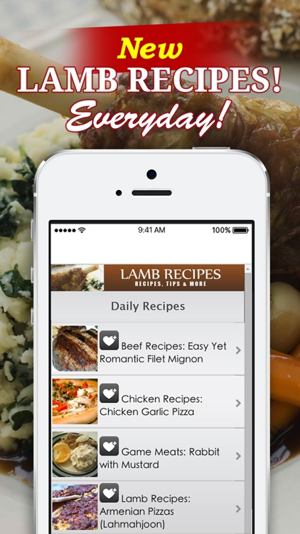 Lamb Recipes++ screenshot-1