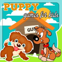 Cute puppy games free for girls - jigsaw puzzles & sounds