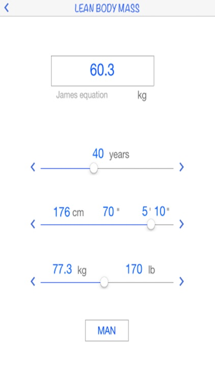 Lean Body Mass calculator by AIMapps