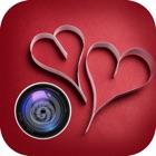 フォトグリーティングいたずら - バレンタインデーラブステッカー&フォトエディタ icon