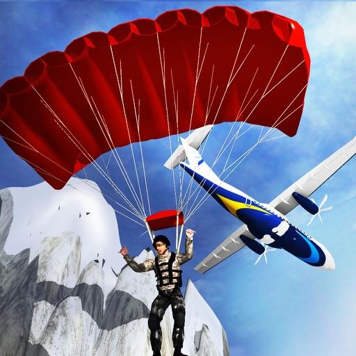 Воздух Трюки Simulator 3D - это прыжки с парашютом полет игра моделирования