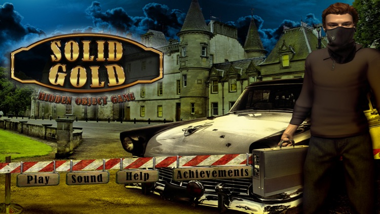 Solid Gold Hidden Object Game
