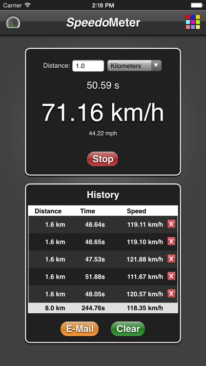 Speedometer App screenshot-1