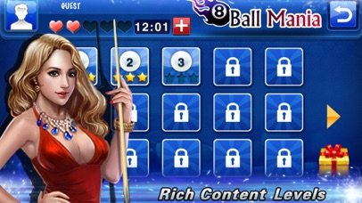 8 Ball Mania screenshot one