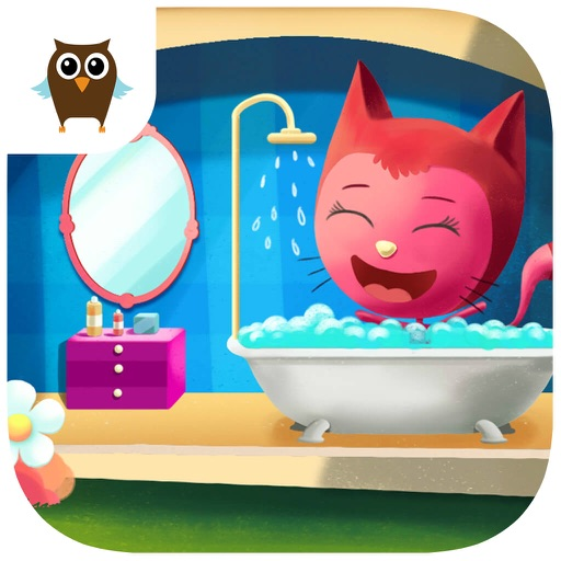 Miss Preschool Kitty Numbers, Shapes & Math - No Ads icon