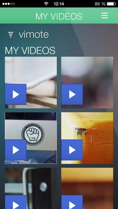 vimote - your remote videoScreenshot von 2