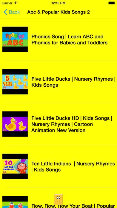 ABC 123 Nursery Rhymes and Songs | App Price Drops