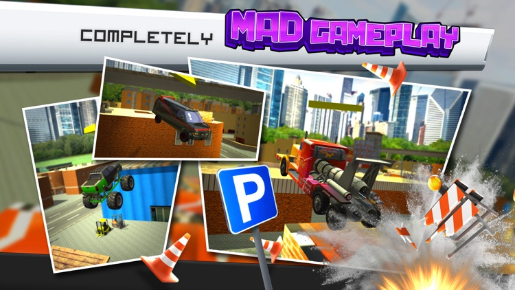 Ridiculous Parking Simulator a Real Crazy Multi Car Driving Racing Game screenshot-3