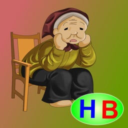 A greedy old woman (story and games for kids)