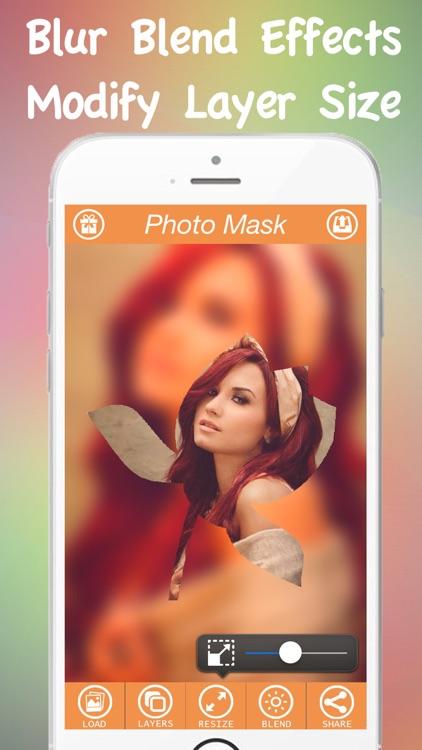 Photo Mask Pro - Mask Layer Effects On Camera Photos screenshot-3