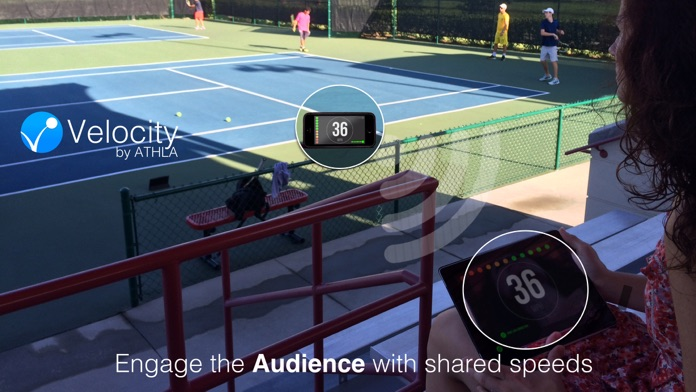 Athla Velocity: Hands-Free Speed Radar for Baseball, Softball, Tennis, Soccer and Cricket (Free) Screenshot