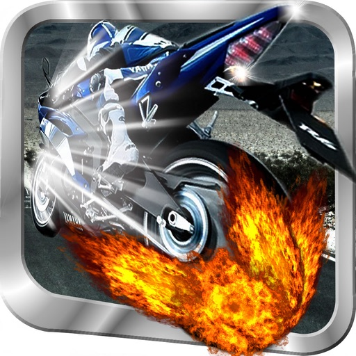 A Fire Motor Bike - Addicting Motorcycle Racing Game