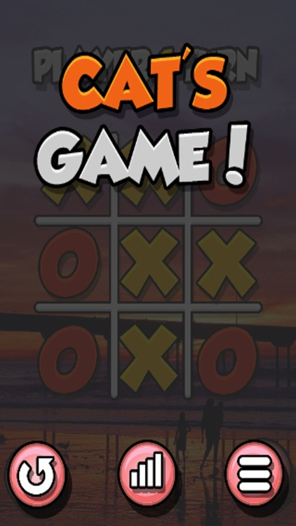 Cats Eye: 2-Player TicTacToe