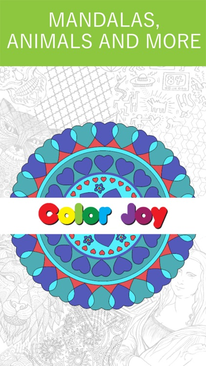 Mandala Coloring Book!