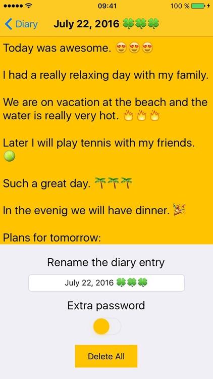 Secret Diary Pro - 100% Security