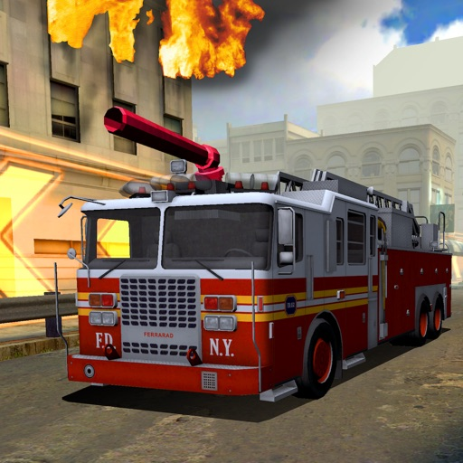 3D FireTruck Racing - eXtreme Emergency Race Trucks icon