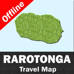RAROTONGA (COOK ISLANDS) – GPS Travel Map Offline Navigator