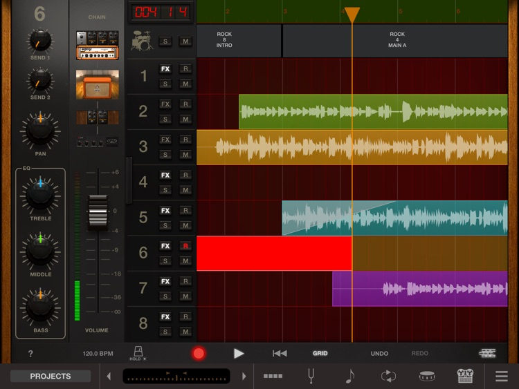 AmpliTube Orange for iPad screenshot-4
