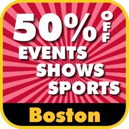 50% Off Boston & New England Events, Shows and Sports Guide by Wonderiffic®