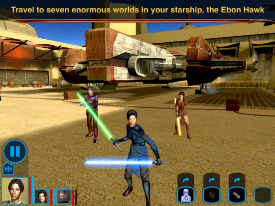 Screenshot #5 for Star Wars®: Knights of the Old Republic™