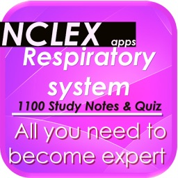 NCLEX Respiratory system 1100 Notes & Quiz