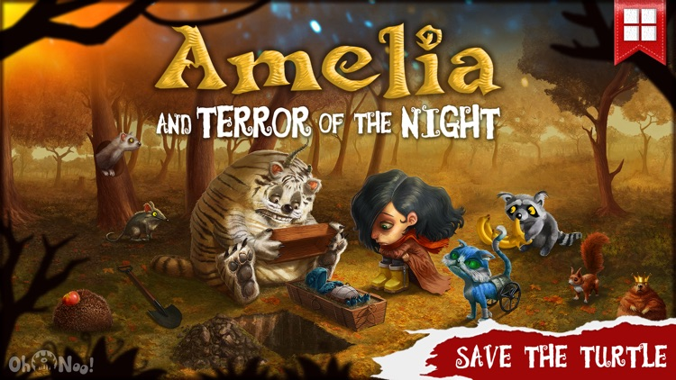 Amelia and Terror of the Night LITE - Story Book for Kids screenshot-0