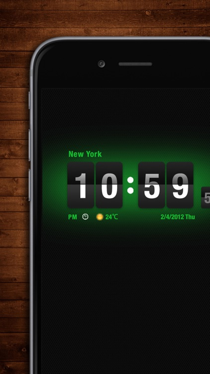 Flip Clock HD screenshot-1